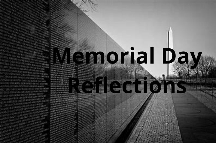 Reflections On Memorial Day >> Memorial Day Reflections Along The Light
